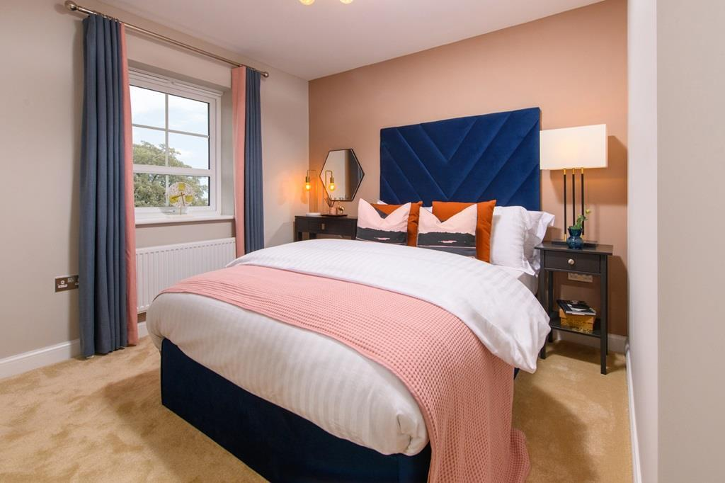 Main bedroom of 3 bedroom Ellerton home