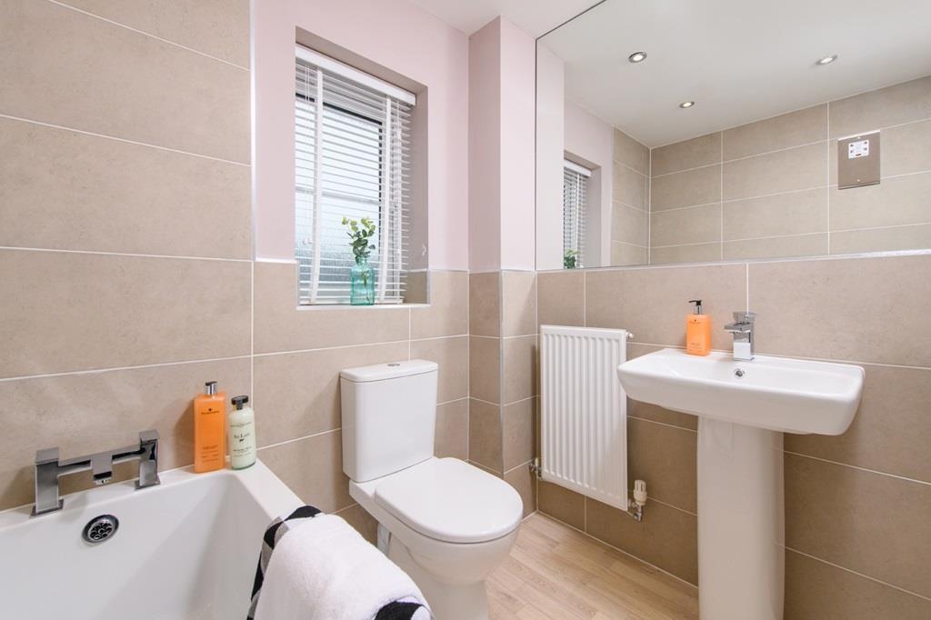 Bathroom inside 3 bedroom Ellerton home