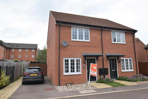 2 bedroom semi-detached house to rent - John Clare Close, Oakham