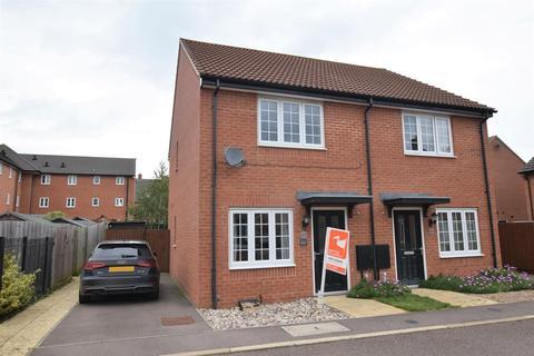 2 bedroom semi-detached house to rent - John Clare Close, Oakham
