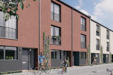 3 bedroom terraced house - Plot 40, Mid Terrace House - Type B at Brooks Dye Works, Sevier Street, St Werburghs, Bristol BS2