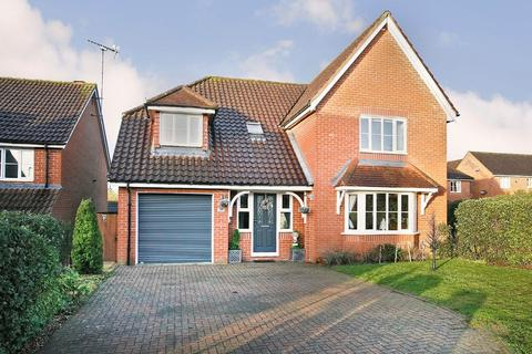 4 bedroom detached house for sale - De Havilland Road, Dereham