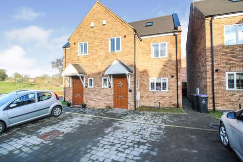 3 bedroom semi-detached house for sale - Copper Mill Close, Whiston, ST10