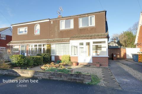 3 bedroom semi-detached house for sale - Camelot Grove, Shavington, Crewe