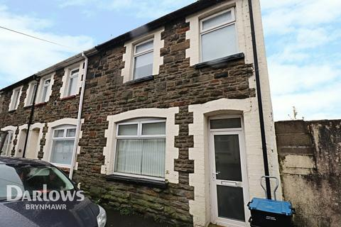 3 bedroom end of terrace house for sale - Oxford Street, Abertillery