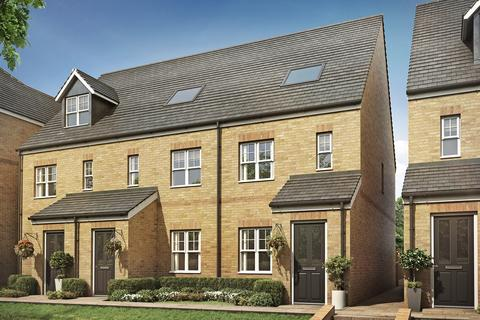 3 bedroom terraced house for sale - Plot 8, The Braunton at Meridian Place, Ware Road SG13