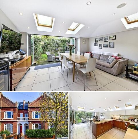 5 bedroom terraced house to rent - Acfold Road, Fulham, London, SW6