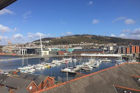 2 bedroom apartment for sale - Pocketts Wharf, Maritime Quarter, Swansea, City And County of Swansea. SA1 3XL
