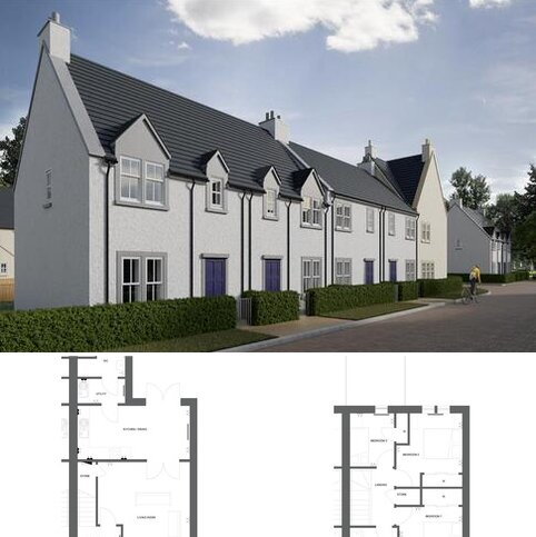3 bedroom semi-detached villa for sale - Plot 18, The Birch at Greenside, Courthill Road IV10