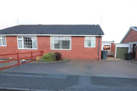 2 bedroom semi-detached bungalow for sale - Moorland Court, Bedlington