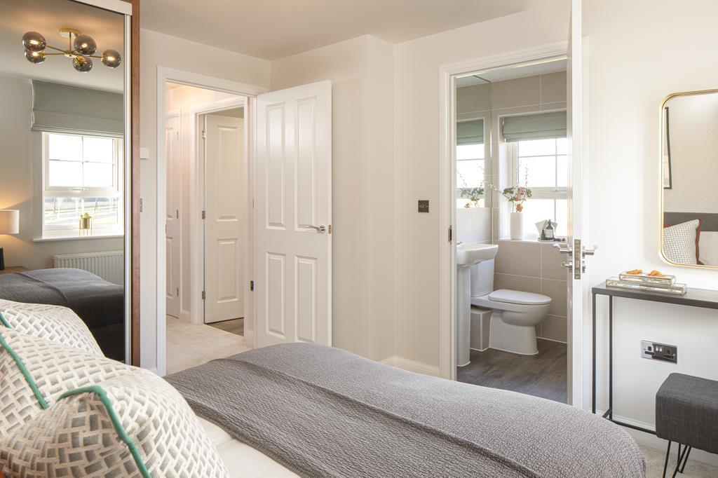 En suite main bedroom, morpeth, 3 bed