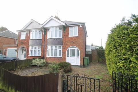 3 bedroom semi-detached house to rent - Una Avenue, Braunstone Town, Leicester, LE3 2GS