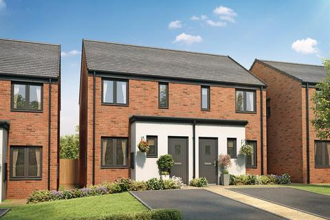 2 bedroom semi-detached house for sale - Plot 797, The Alnwick at St Edeyrns Village, The Foxborough, Church Road, Old St. Mellons CF3