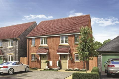 2 bedroom terraced house - The Belford - Plot 405 at Nexus at Lyde Green, Honeysuckle Road, Lyde Green, Emersons Green BS16