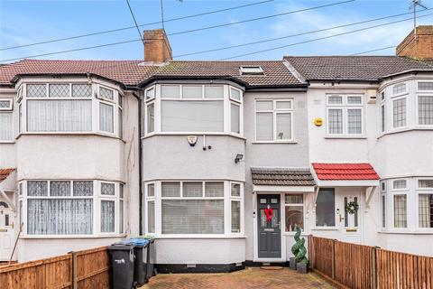 3 bedroom terraced house for sale - New Park Avenue, Palmers Green, London, N13