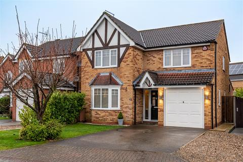4 bedroom detached house for sale - Hambling Drive, Beverley, East Yorkshire, HU17 9GD