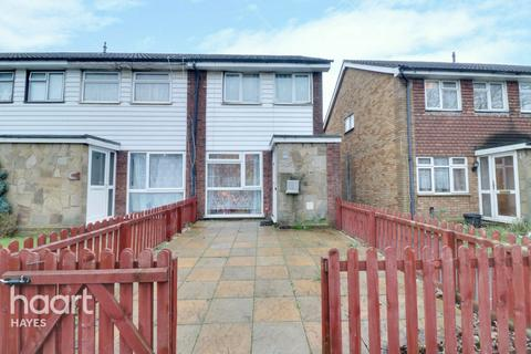 2 bedroom end of terrace house for sale - Cleave Avenue, Hayes