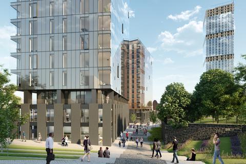 2 bedroom flat for sale - Aspin Lane, Manchester, M4 4JT