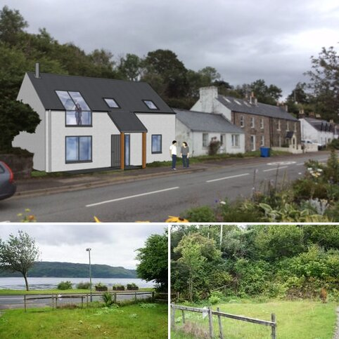 Plot for sale - Main Street, Lochcarron IV54