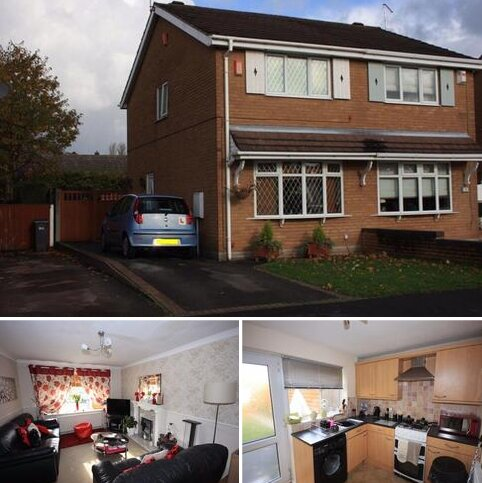 2 bedroom semi-detached house to rent - Glencastle Way, Trentham, Stoke On Trent, Staffordshire, ST4 8QE