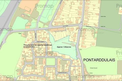 Residential development for sale - Tyn Y Bonau Road, Pontarddulais, Swansea, City And County of Swansea.