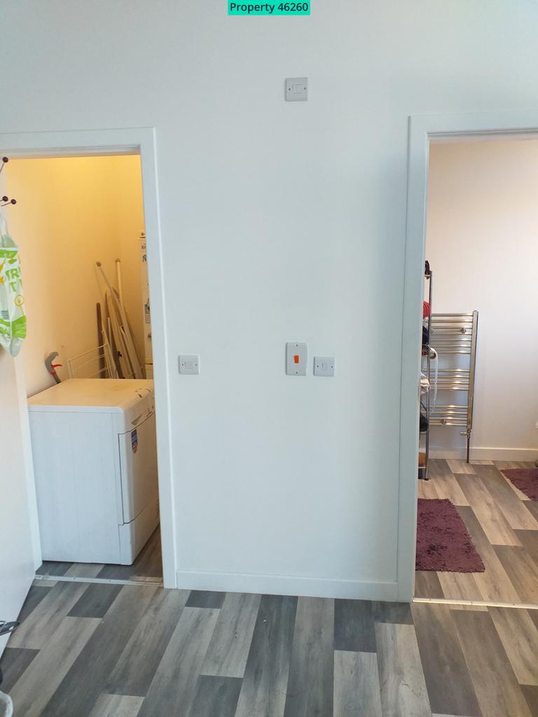 Cupboard and bathroo