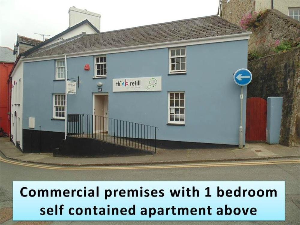 1 Bedroom Semi Detached House for sale in 2a Holloway, HAVERFORDWEST, Pembrokeshire