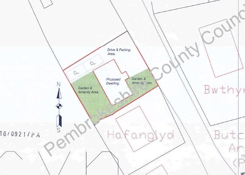Plot Commercial for sale in Building Plot adj. to Cartrefle, Tegryn, Llanfyrnach, Pembrokeshire