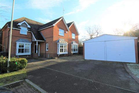 5 bedroom detached house for sale - Robinia Close, Lutterworth LE17 4FS