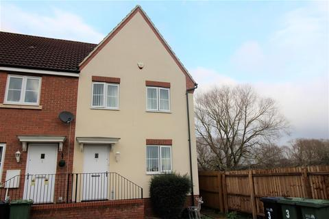 3 bedroom end of terrace house for sale - Vole Court, Gaywood