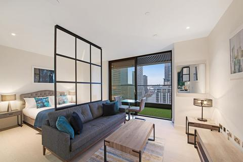 Studio to rent - Wardian London, Canary Wharf, E14