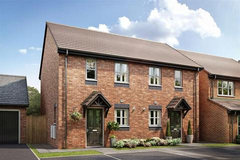 2 bedroom end of terrace house for sale - The Beckford - Plot 151 at Burleyfields, Stafford, Martin Drive ST16