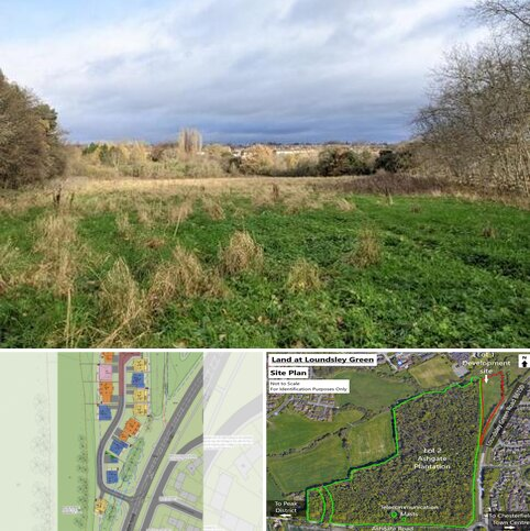 Land for sale - Development Land at Loundsley Green, Chesterfield