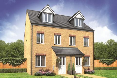 3 bedroom terraced house for sale - Plot 115, The Souter at Alderman Park, Mansfield Road, Hasland S41