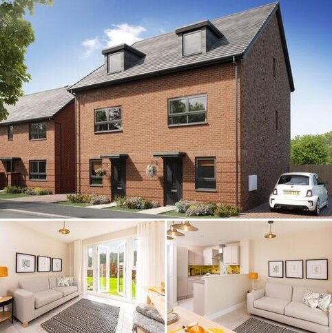 3 bedroom semi-detached house for sale - Plot 121, Oakley at Glenvale Park, Niort Way, Wellingborough, WELLINGBOROUGH NN8