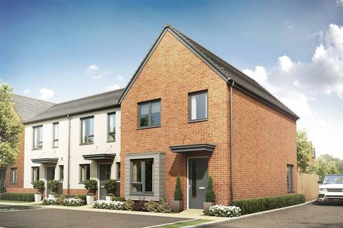 3 bedroom end of terrace house - Plot 399 - The Gosford at Latitude at The Quays, The Quays, Off Ffordd y Mileniwm, Barry Waterfront CF62