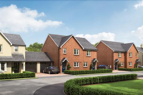Dandara - The Grove - The Barbary Apartments - Plot 960 at Tulip Fields at New Berry Vale, Bicester Road HP18