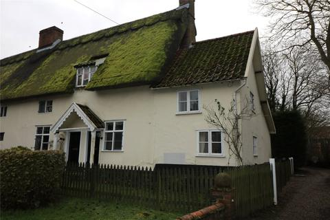 2 bedroom end of terrace house to rent - Audrey Muskett Cottage, The Street, Ashwellthorpe, Norwich, NR16