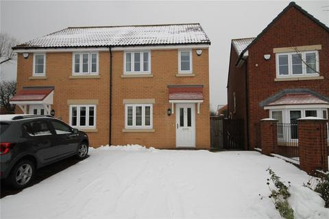 2 bedroom semi-detached house for sale - The Chequers, Consett, DH8