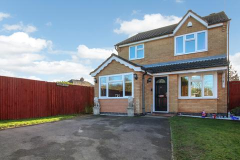 3 bedroom detached house for sale - Chambers Close, Markfield