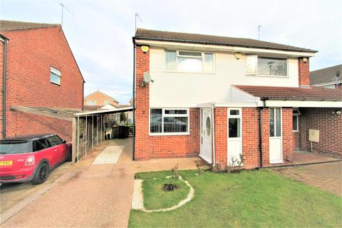 2 bedroom semi-detached house for sale - Huggett Close, Rushey Mead, Leicester LE4