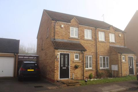 2 bedroom semi-detached house for sale - Howards Way, Moulton Park, Northampton NN3 6RP