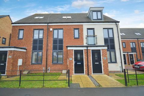 3 bedroom townhouse for sale - 3 Bedroom Townhouse for Sale on Roseden Way, Newcastle Great Park