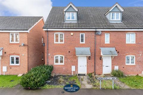 3 bedroom townhouse for sale - Monticello Way, Bannerbrook Park, Coventry