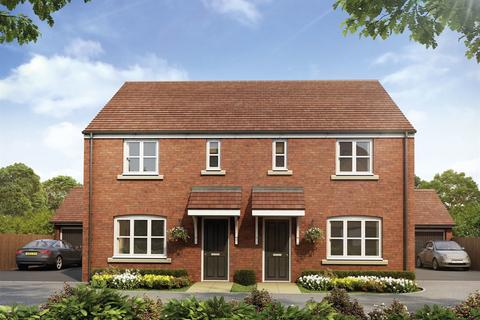 3 bedroom end of terrace house for sale - Plot 282, The Hanbury at Hanwell Chase, Warwick Road OX16