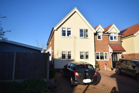 3 bedroom end of terrace house for sale - Hatfield Road, Wickham Bishops, Witham, Essex, CM8