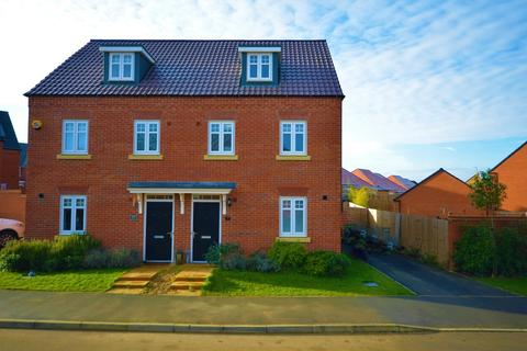 3 bedroom semi-detached house for sale - Kingfisher Road, Thrapston, Kettering