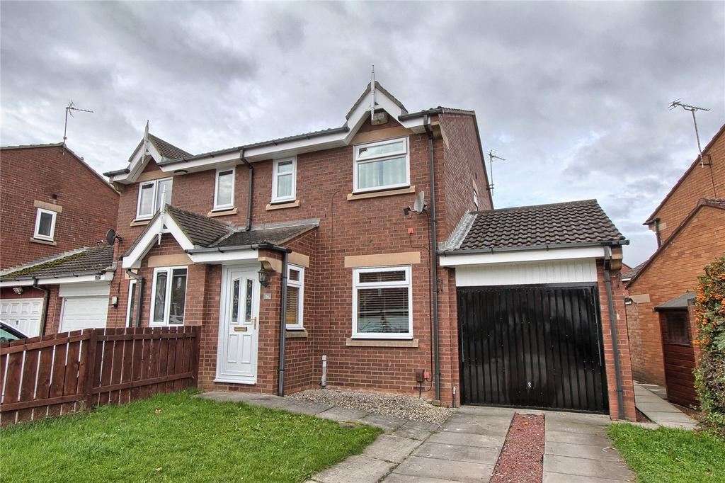 2 Bedrooms Semi Detached House for sale in Woodrush, Coulby Newham