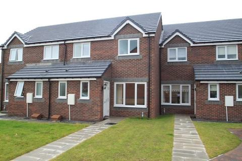 3 bedroom terraced house - Balmoral Avenue, Catchgate, Stanley, County Durham, DH9