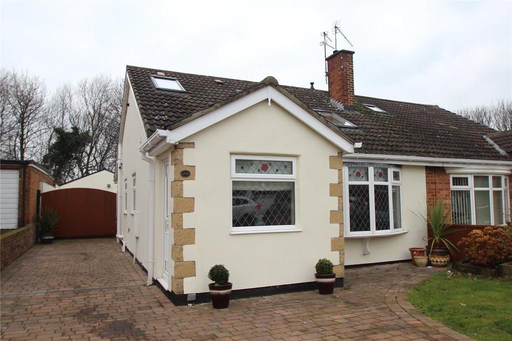 2 Bedrooms Semi Detached Bungalow for sale in Kensington Avenue, Normanby